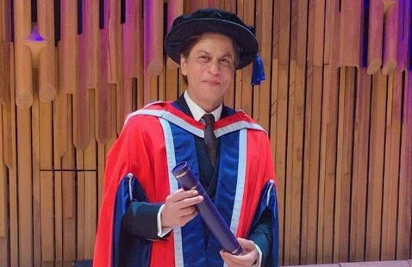 'Charity should be done in silence and with dignity': Shah Rukh Khan receives honorary doctorate for