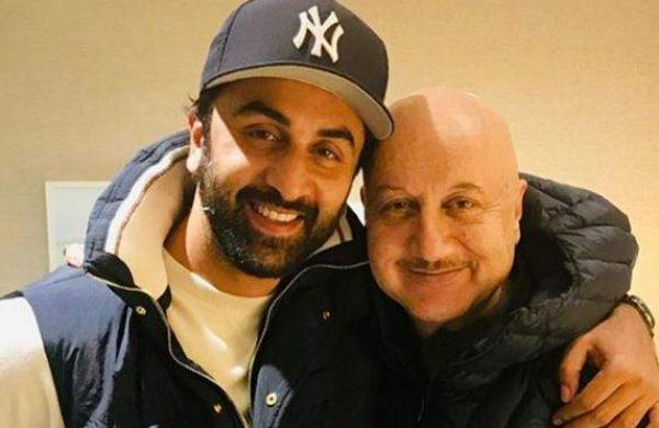 Ranbir Kapoor with Anupam Kher