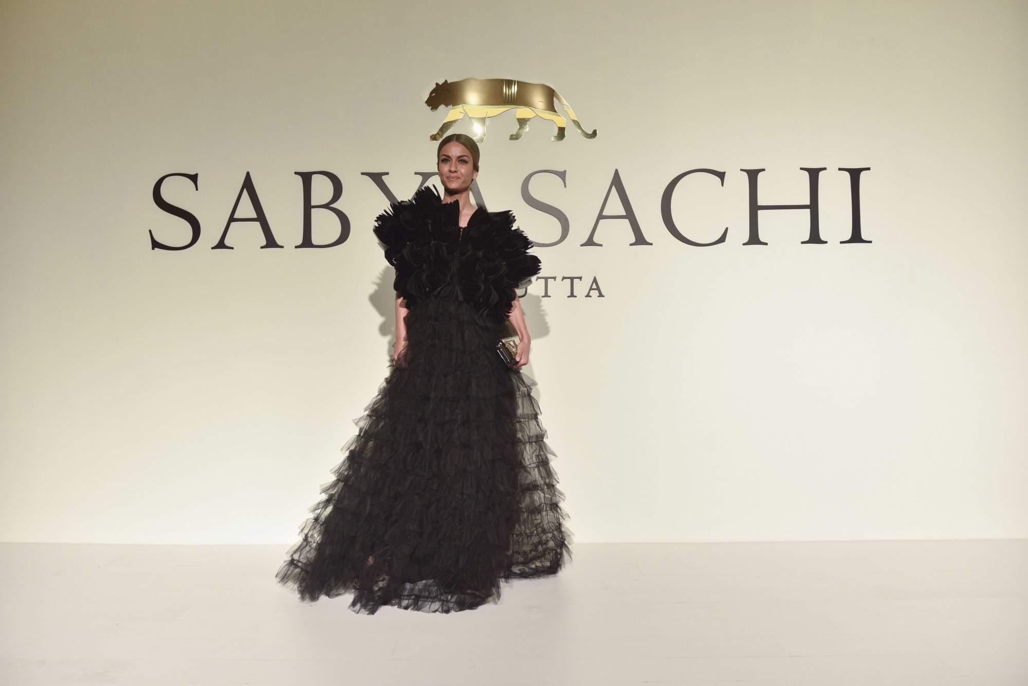 New Delhi: Natasha Poonawalla at the 20th year celebrations of fashion designer Sabyasachi Mukherjee's brand 'Sabyasachi', in New Delhi, on April 6, 2019. (Photo: IANS)