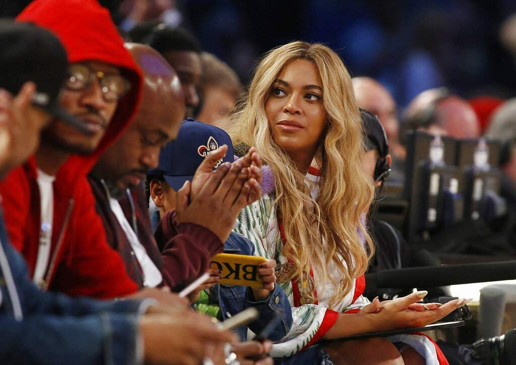 FILE - In this Feb. 19, 2017. file photo, Beyonce (AP Photo/Max Becherer, File)