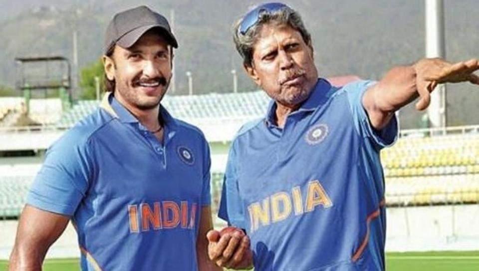 Ranveer Singh trains with Kapil Dev for '83