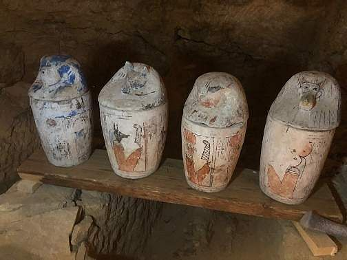 Canopic Jars. (Photo Source: Discovery)