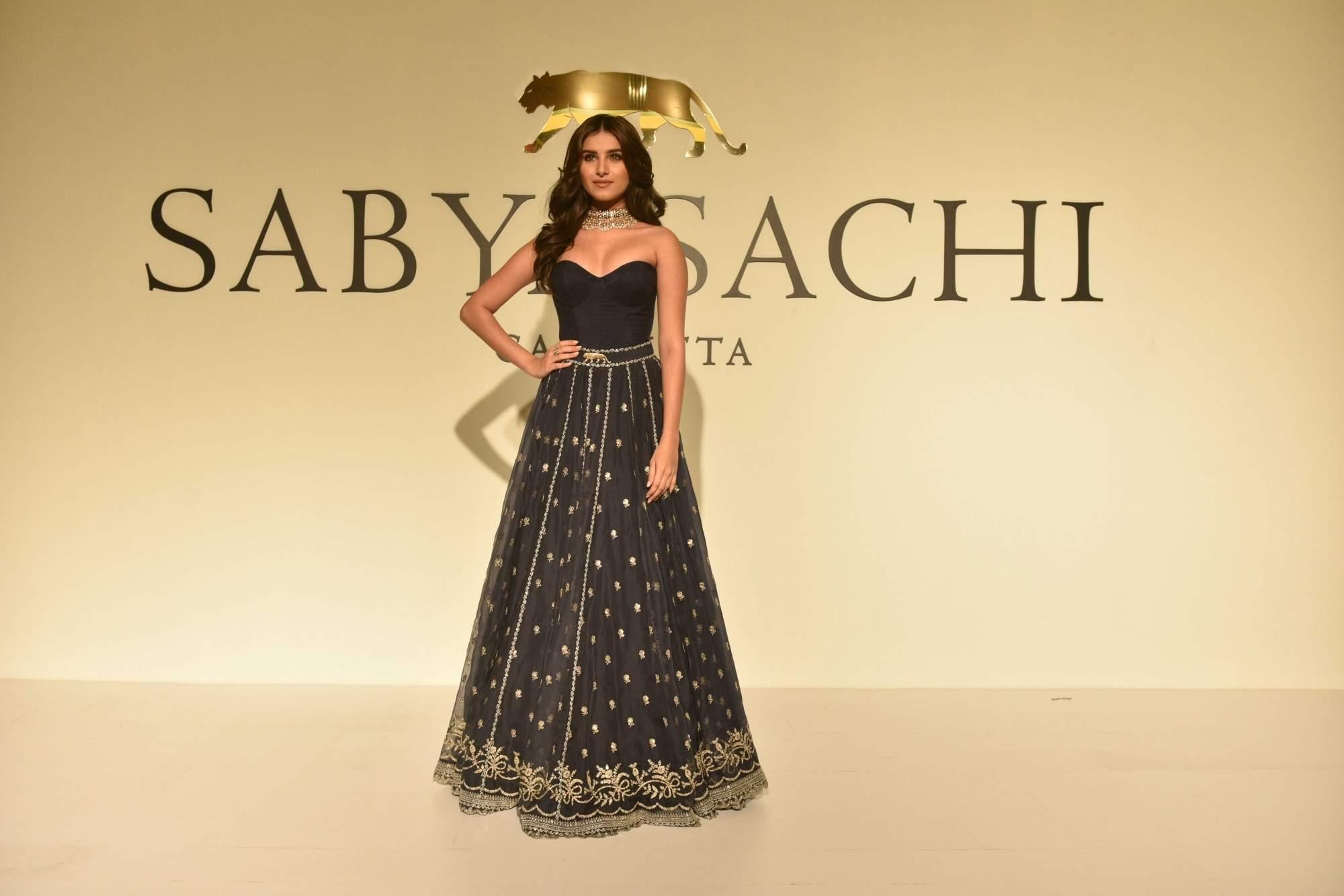 New Delhi: Tara Sutaria at the 20th year celebrations of fashion designer Sabyasachi Mukherjee's brand 'Sabyasachi', in New Delhi, on April 6, 2019. (Photo: IANS)