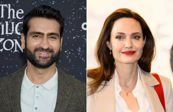 Comedian Kumail Nanjiani in talks to join Angelina Jolie in Marvel Studios' The Eternals
