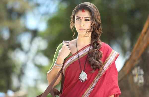 Hyderabad: Actress Nayanthara at Telugu movie 'Vasuki' (Photo: IANS)