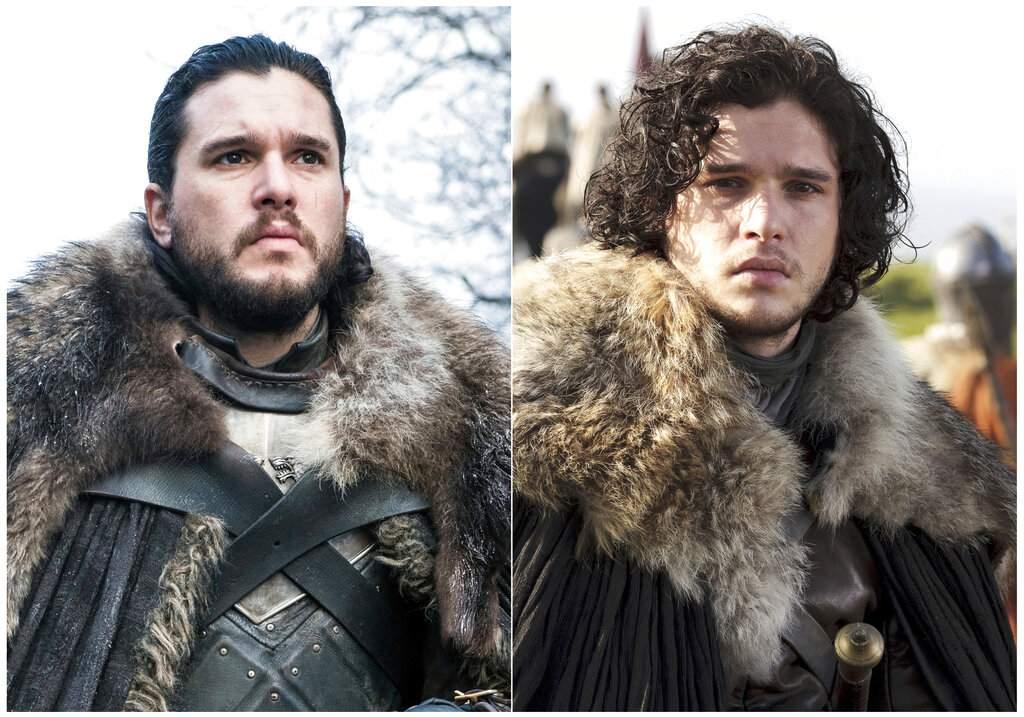 Kit Harington portrays Jon Snow (HBO via AP)