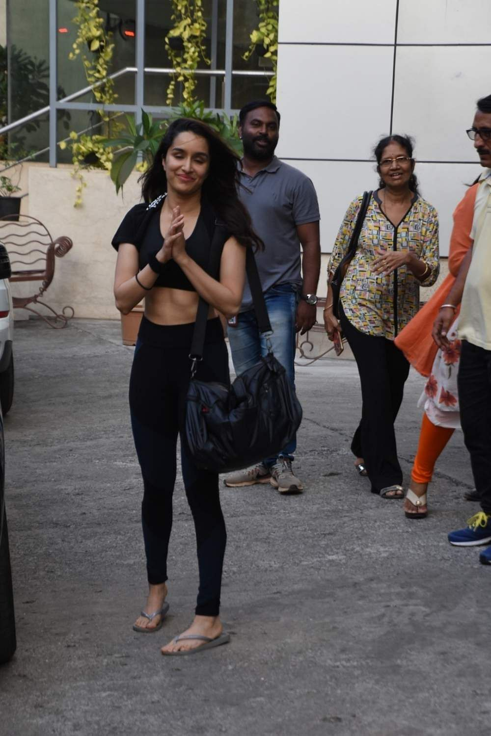 Mumbai: Actress Shraddha Kapoor seen at a dance class in Mumbai's Andheri on May 9, 2019. (Photo: IANS)