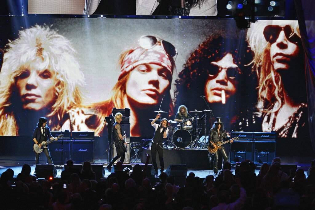 File photo: Guns N' Roses (AP Photo/Tony Dejak)