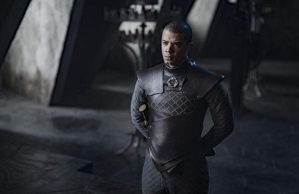 Jacob Anderson in a still from Ep05 S08. Game of Thrones, HBO and related service marks are the property of Home Box office, Inc. All rights reserved. Airs on Star World/HD every Tuesday, 10 pm.