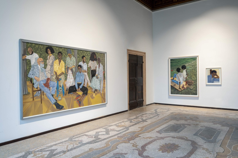 Toyin Ojih Odutola. Future Generation Art Prize at Venice Biennale 2019: A Collateral Event of the 58th International Art Exhibition – La Biennale di Venezia. Photographs courtesy PinchukArtCentre.