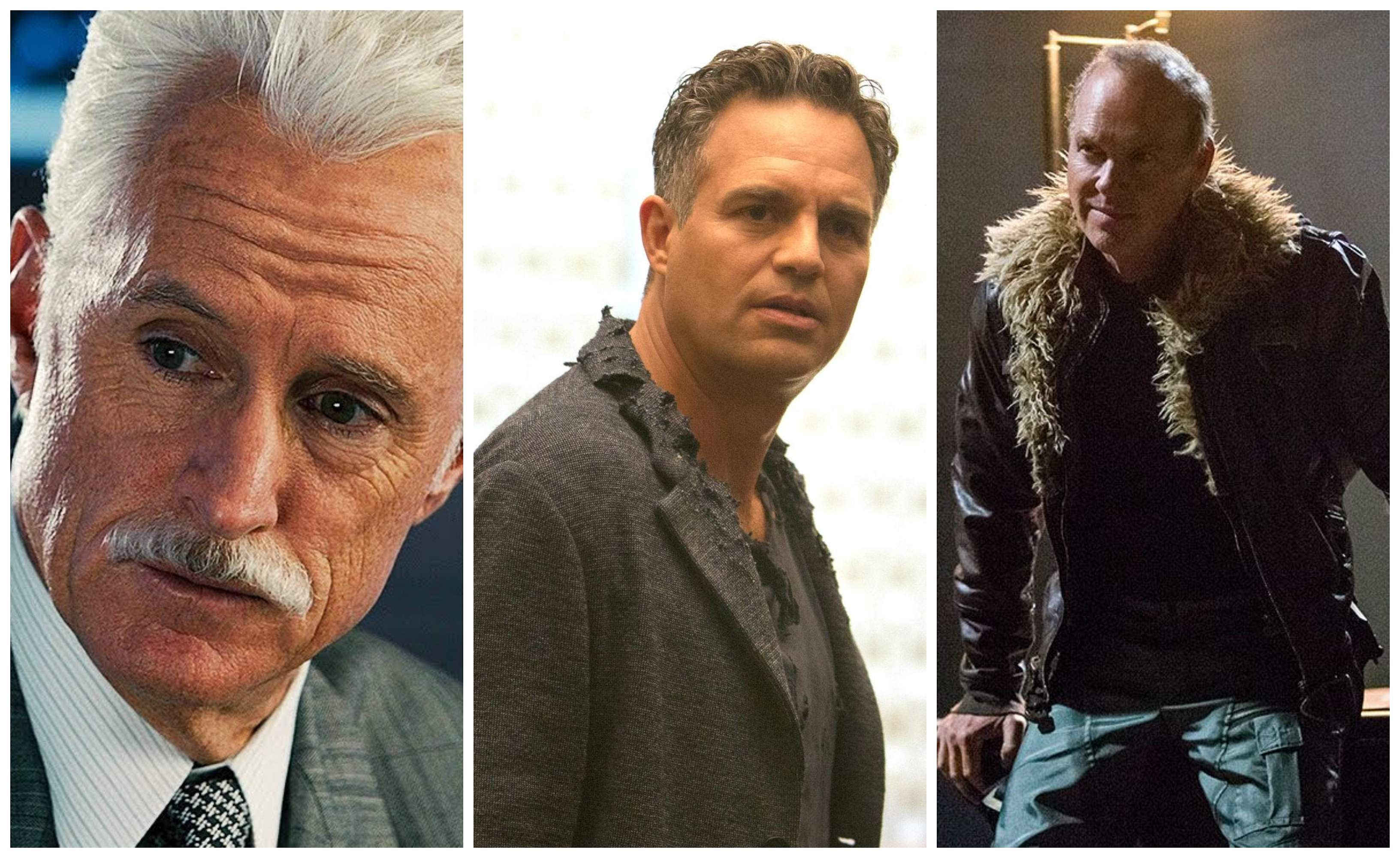 John Slattery, Mark Ruffalo, and Michael Keaton