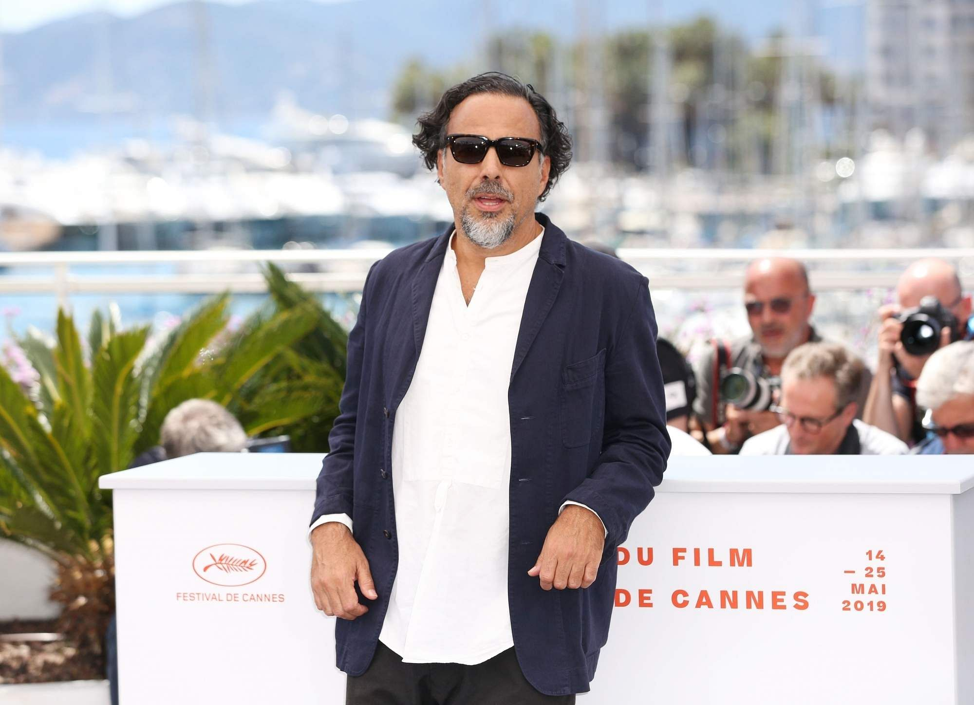Cannes (Xinhua): Mexican director and President of the Jury of the Cannes Film Festival Alejandro Gonzalez Inarritu at a photocall in Cannes, France, May 14, 2019. (Xinhua/Gao Jing/IANS)