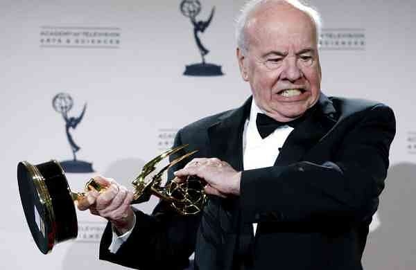 2008 file photo: Actor Tim Conway with his award for Outstanding Guest Actor in a Comedy Series. (AP Photo/Matt Sayles)