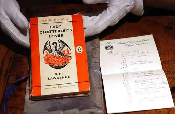 DH Lawrence's Lady Chatterley's Lover