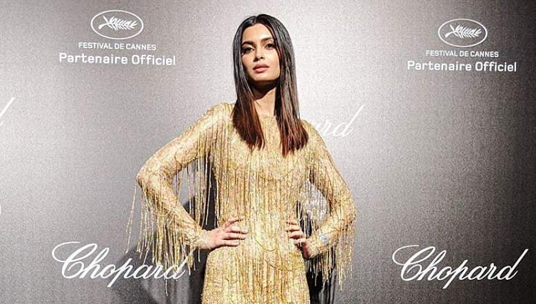 Diana Penty at Chopard party