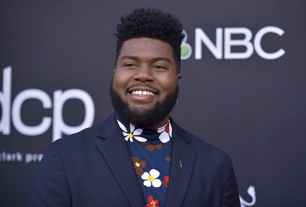 Khalid arrives at the Billboard Music Awards on Wednesday, May 1, 2019, at the MGM Grand Garden Arena in Las Vegas. (Photo by Richard Shotwell/Invision/AP)