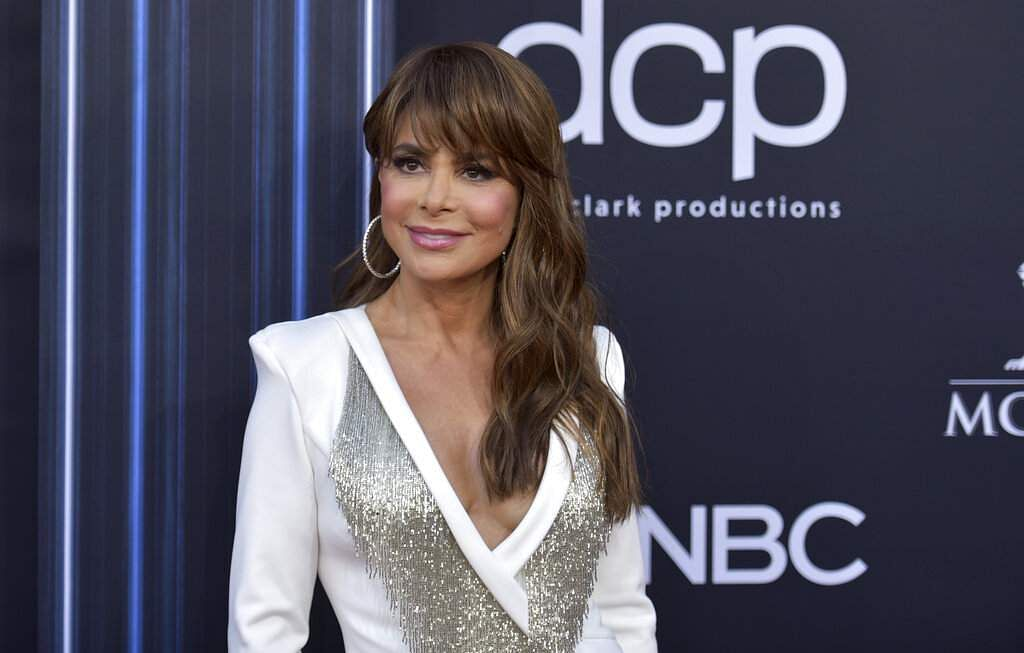Paula Abdul arrives at the Billboard Music Awards on Wednesday, May 1, 2019, at the MGM Grand Garden Arena in Las Vegas. (Photo by Richard Shotwell/Invision/AP)