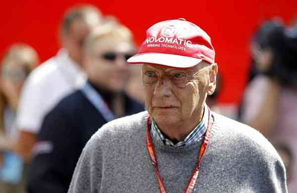 2018 file photo: Former Formula One World Champion Niki Lauda of Austria. (AP Photo/Luca Bruno)