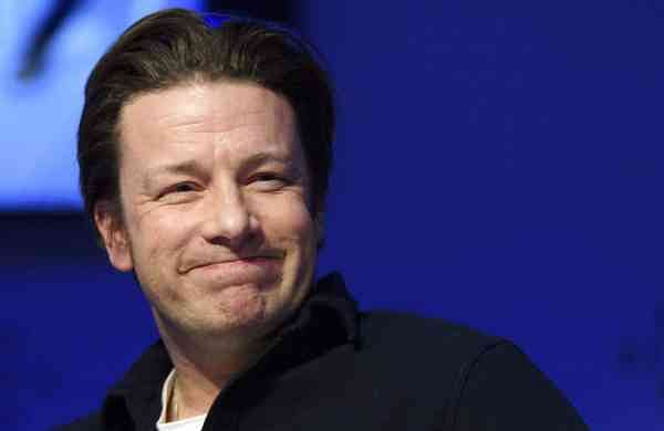 2017 file photo: British chef Jamie Oliver (Laurent Gillieron/Keystone via AP)