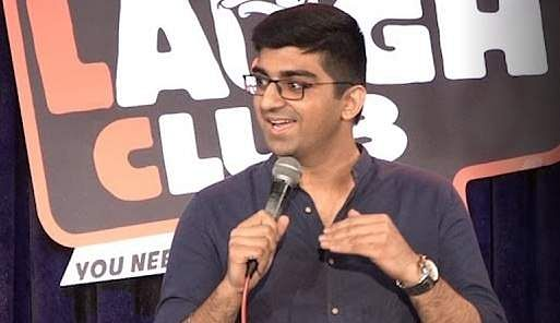 Raunaq Rajani and Punit Pania perform at CounterCulture Comedy
