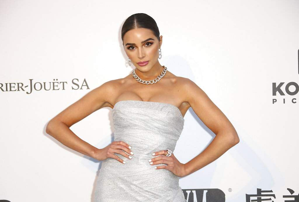 Model Olivia Culpo poses at the amfAR, Cinema Against AIDS, benefit at Hotel du Cap-Eden-Roc, at the 72nd international Cannes film festival, in Cap d'Antibes. (Photo by Joel C Ryan/Invision/AP)