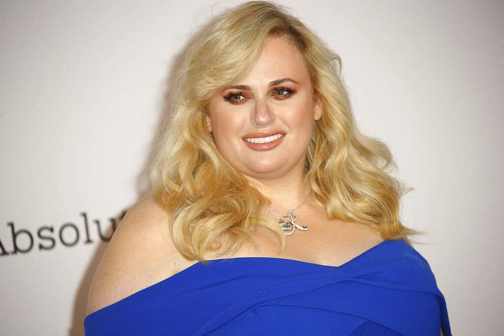 Rebel Wilson poses at the amfAR, Cinema Against AIDS, benefit at Hotel du Cap-Eden-Roc, at the 72nd international Cannes film festival, in Cap d'Antibes. (Photo by Joel C Ryan/Invision/AP)