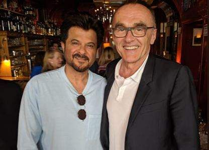 Anil Kapoor and Danny Boyle