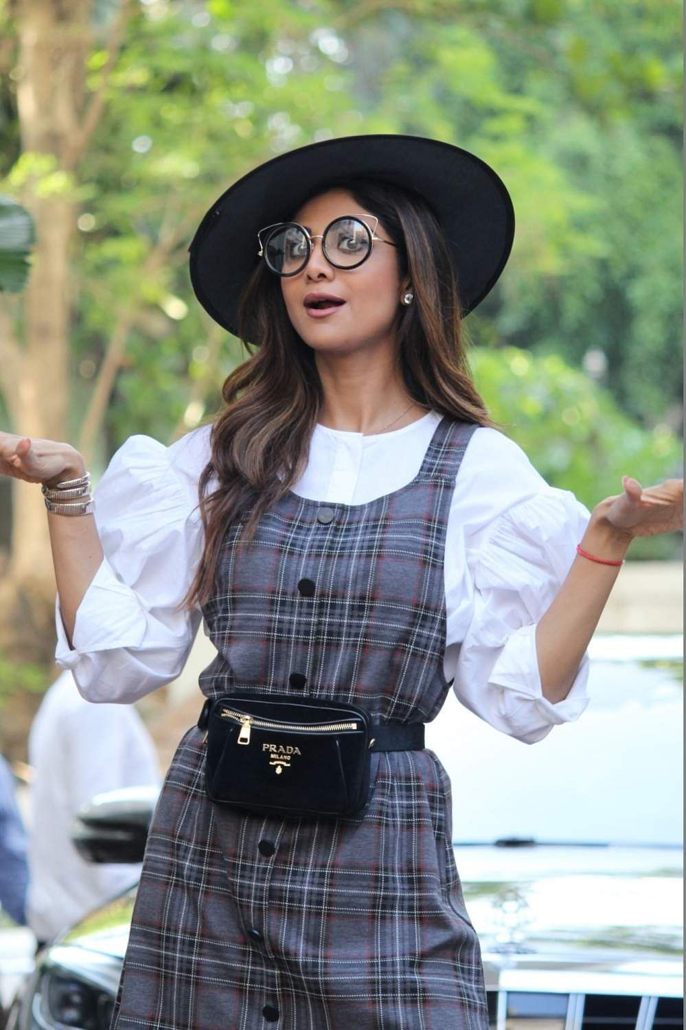 Actress Shilpa Shetty during the 7th birthday celebrations of her son Viaan in Mumbai on May 25, 2019. (Photo: IANS)