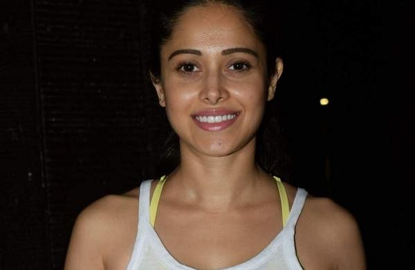 Celeb diaries: Actress Nushrat Bharucha seen outside her gym in Juhu, Mumbai on May 25, 2019. (Photo: IANS)