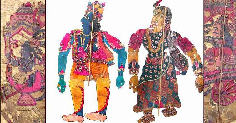 Puppet collection show at DakshinaChitra