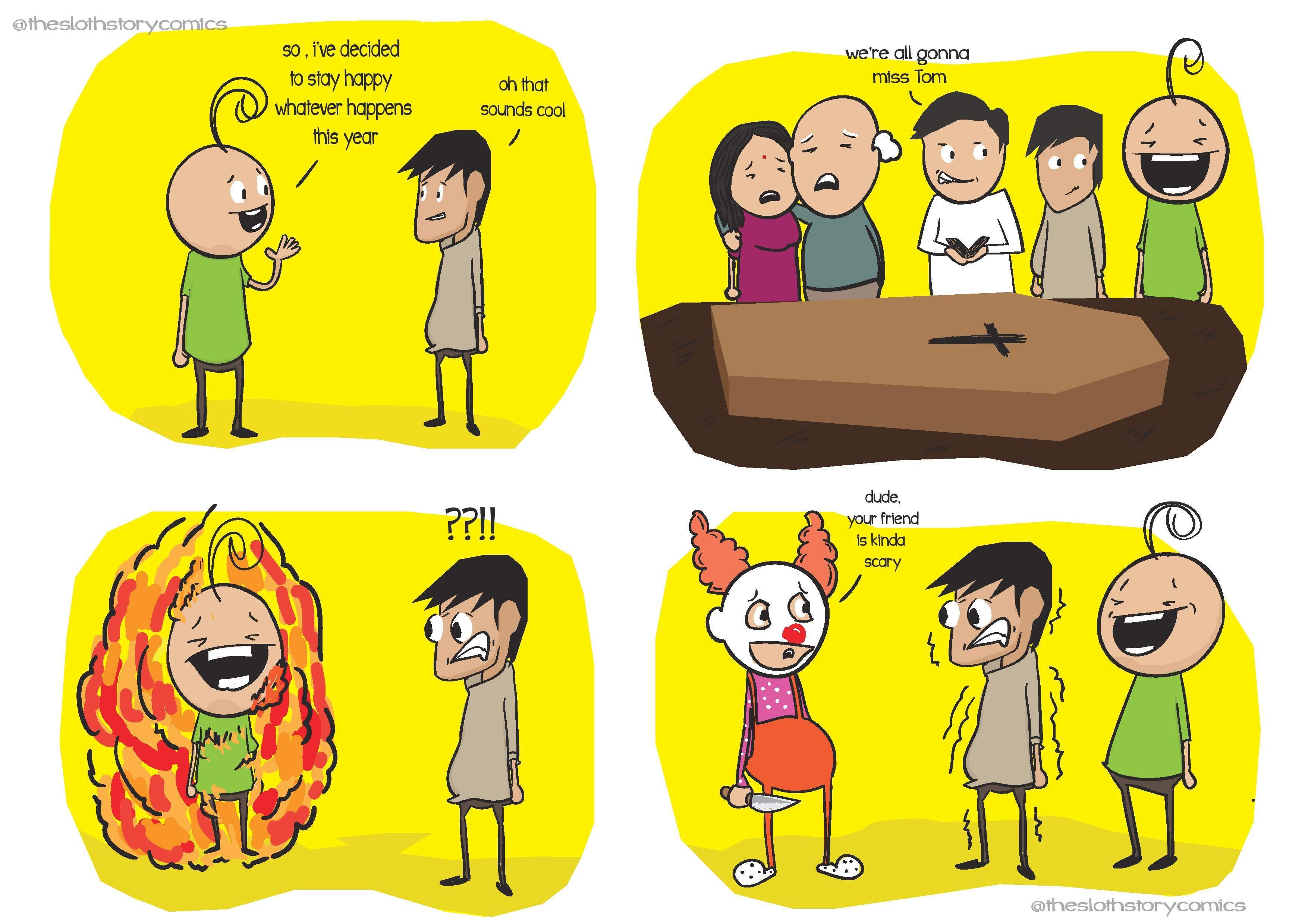 A comic by Siddarth Raj