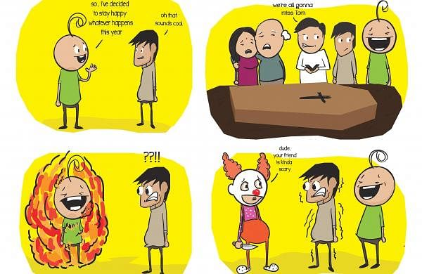 A comic by Siddarth Raj