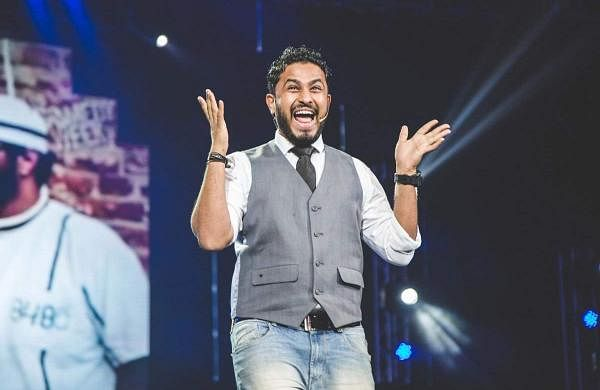 Abish Mathew performs at CounterCulture Comedy Club