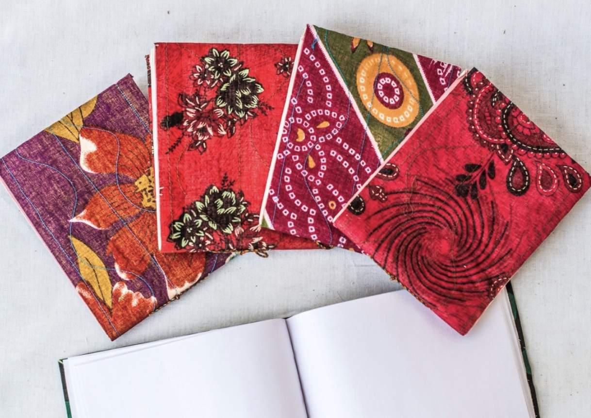 Notebooks at Tilonia Bazaar