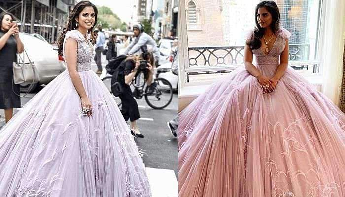 Met Gala 2019: Isha Ambani makes heads turn in a Prabal Gurung creation