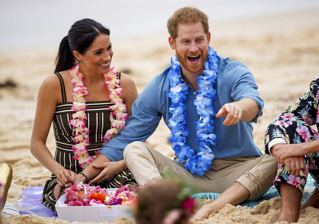 Prince Harry and Meghan in Sydney, Australia