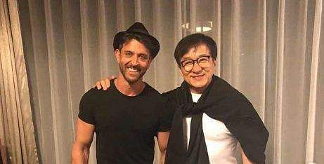 Hrithik Roshan and Jackie Chan