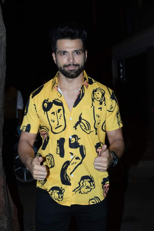 Actor Rithvik Dhanjani at the birthday party of producer Ekta Kapoor, in Mumbai on June 8, 2019. (Photo: IANS)