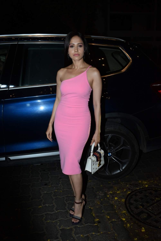 Actress Nushrat Bharucha at the birthday party of producer Ekta Kapoor, in Mumbai on June 8, 2019. (Photo: IANS)