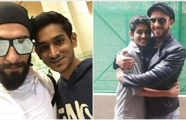 Ranveer Singh pays tribute to young fan who passed away, shares pictures with him