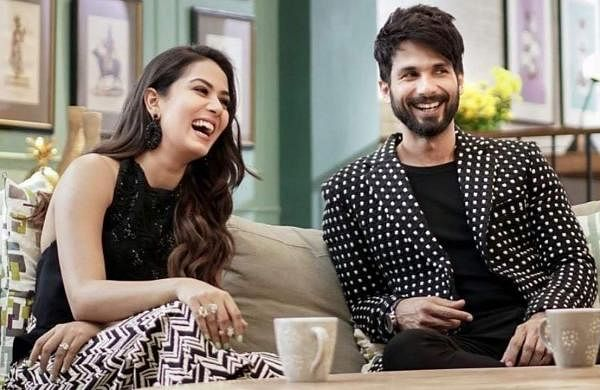 Mira Rajpur and Shahid Kapoor