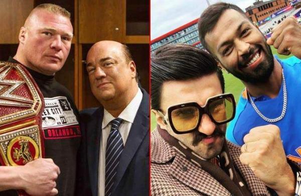 Ranveer Singhwarned by WWE wrestler Brock Lesnar's advocate for using his catch phrase
