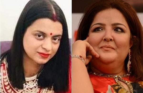 Rangoli Chandel and Sunaina Roshan