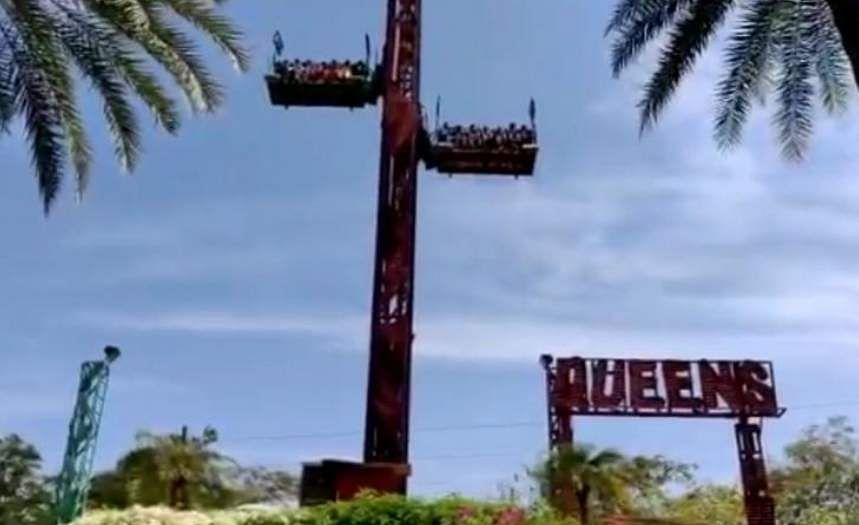 Chennai amusement park temporarily shut down as ride plummets to the ground