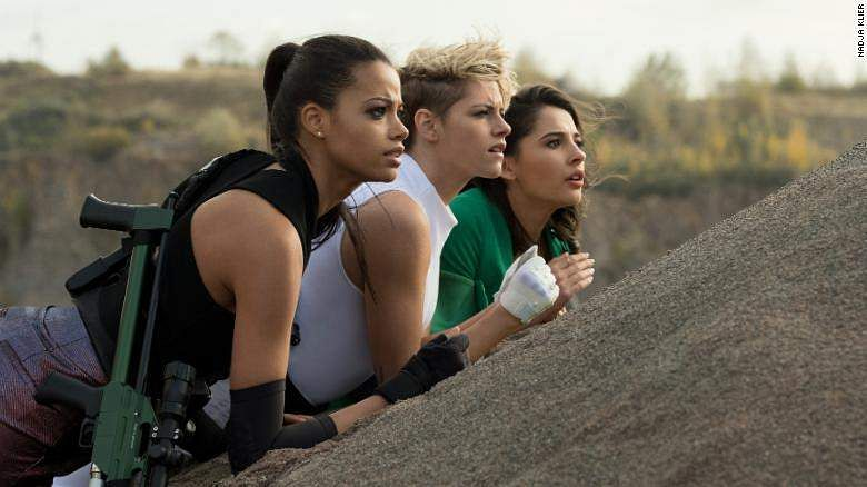 A still from the film, Charlie's Angels