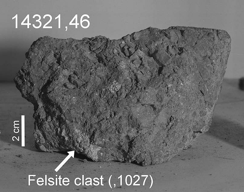 Analysis of lunar samples from the Apollo 14 mission (Photo Credit: NASA)