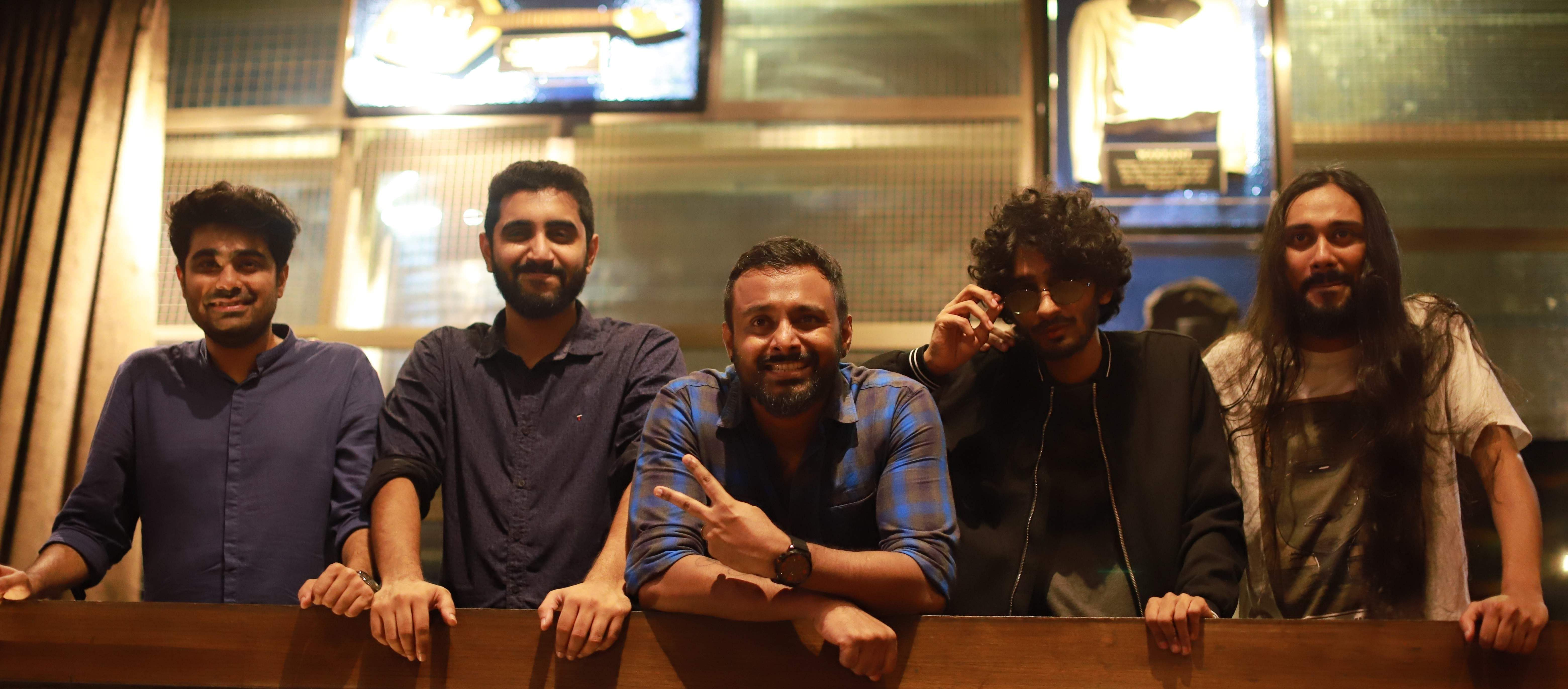 L to R: Neel, Shravan, Anand, Hrishi & Shishir