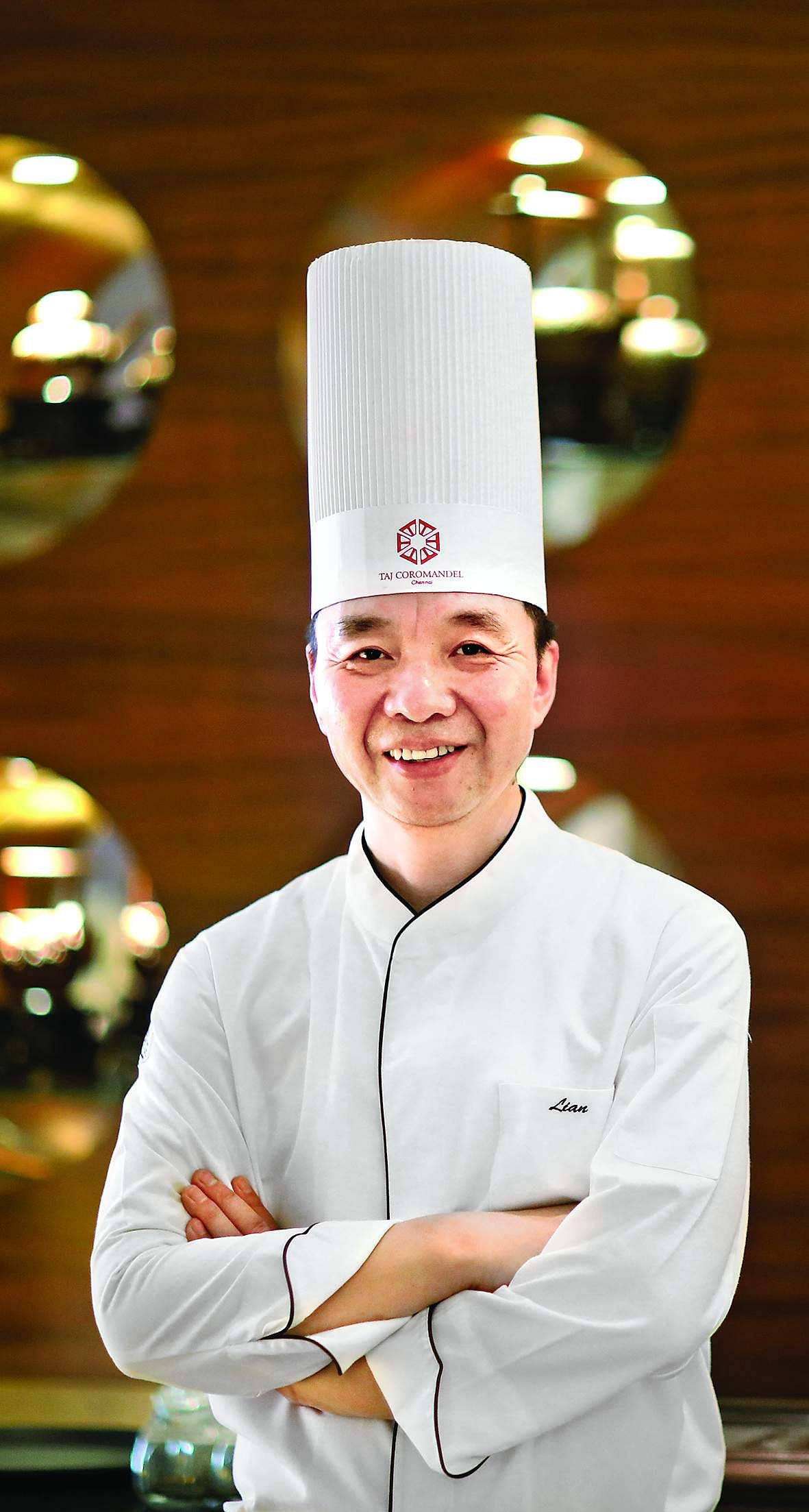 New menu at Golden Dragon, Taj Coromandel, Chennai, curated by Master Chef Lian Yun Lei. Master Chef Lian Yun Lei.