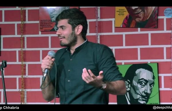 Deep Chhabria performs at CounterCulture Comedy Club