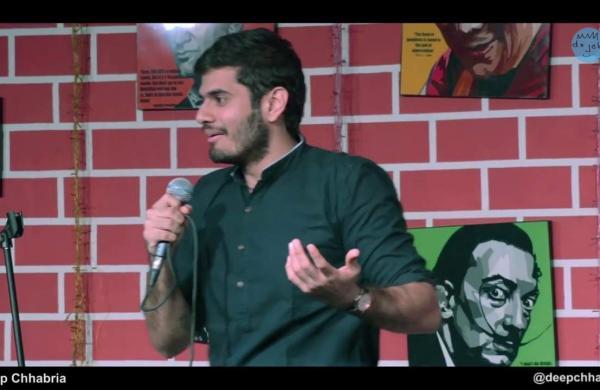 Deep Chhabria performs atCounterCulture Comedy Club